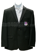 Sigma Phi Kappa Blazer Jacket with Crest, Black