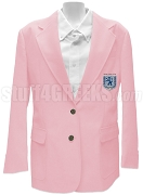 Sigma Rho Lambda Sorority Blazer Jacket with Crest, Pink