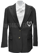 Swing Phi Swing Blazer Jacket with Crest, Black