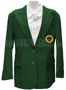 Tau Gamma Sigma Blazer Jacket with Crest, Forest Green