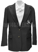 Zeta Phi Zeta Ladies Blazer Jacket with Crest, Black