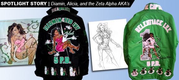 Creative Line Jackets From The Zeta Alpha Chapter Of Alpha