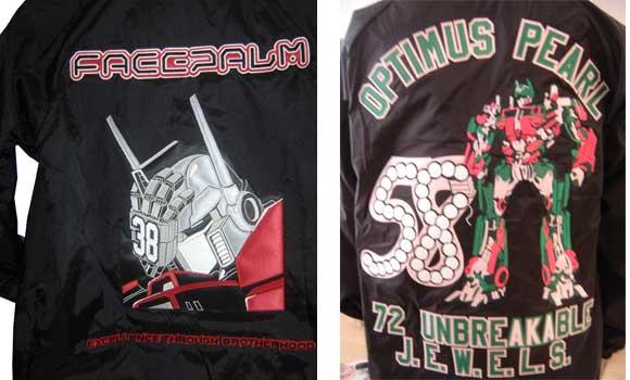 Transformers Optimus Prime Jackets