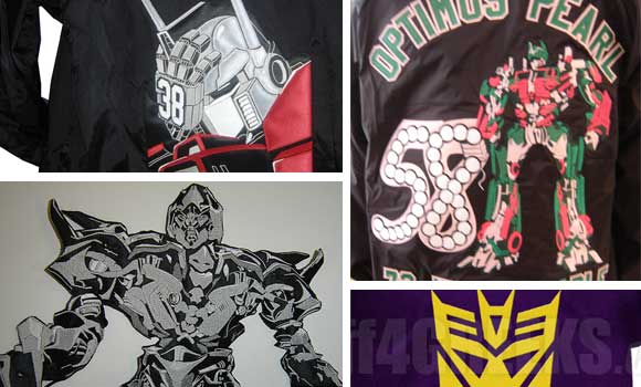 Transformers Optimus Prime Jackets
