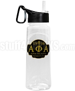 Alpha Phi Alpha Greek Letter Water Bottle with Founding Year and Pharaoh