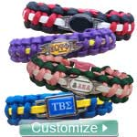 Custom Braided Sports Bracelet