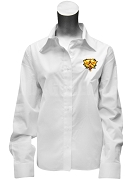 Sigma Iota Sigma Multicultural Sorority Button Down Shirt with Crest, White