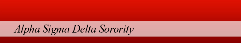 Alpha Sigma Delta sorority clothing, custom apparel, merchandise, gifts, and accessories by stuff4GREEKS, the most exclusive Greek store in the world.