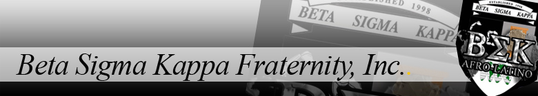 Beta Sigma Kappa Fraternity clothing, custom apparel, merchandise, gifts, and accessories by stuff4GREEKS, the most exclusive Greek store in the world.