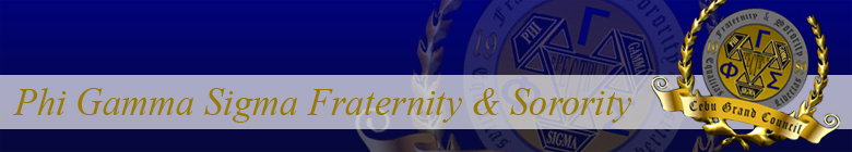 Phi Gamma Sigma Fraternity and Sorority clothing, custom apparel, merchandise, gifts, and accessories by stuff4GREEKS, the most exclusive Greek store in the world.