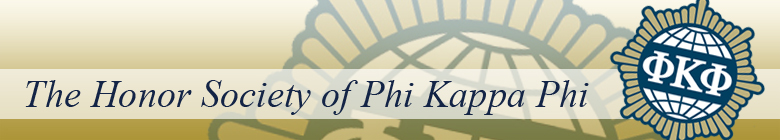 Phi Kappa Phi honor society clothing, custom apparel, merchandise, gifts, and accessories by stuff4GREEKS, the most exclusive Greek store in the world.