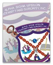 Alpha Sigma Upsilon Dog Tags