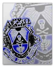 Alpha Zeta Omega Polo Shirts