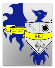 Beta Kappa Gamma Dog Tags