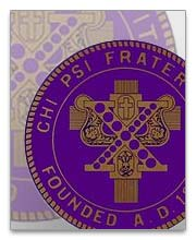 Chi Psi Dog Tags