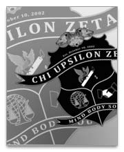 Chi Upsilon Zeta Dog Tags