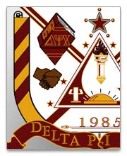 Delta Psi Chi Dog Tags