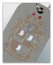 Alpha Phi Alpha Dog Tags