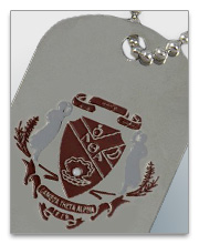 Lambda Theta Alpha Dog Tags