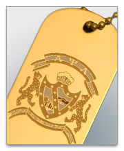 Alpha Psi Lambda Dog Tags
