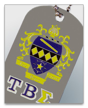 Tau Beta Sigma Dog Tags