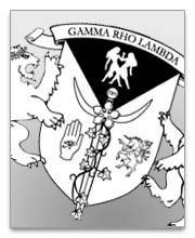 Gamma Rho Lambda Dog Tags