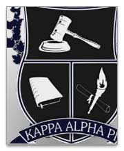 Kappa Alpha Pi Dog Tags