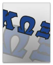 Kappa Omega Xi Dog Tags