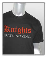 Knights Fraternity T-Shirts