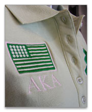 Alpha Kappa Alpha Polo Shirts