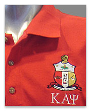 Kappa Alpha Psi Polo Shirts