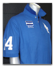 Phi Beta Sigma Polo Shirts