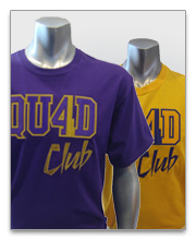 Four Club & Quad Club T-Shirts