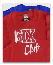 Six Club T-Shirts