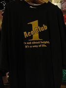 CLOSEOUT: Alpha Phi Alpha Ace Club T-shirt, Black, 4XL - MAKE AN OFFER