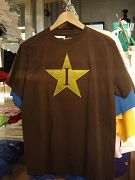 MUST GO: Iota Phi Theta Iota Star shirt, Brown - MAKE AN OFFER