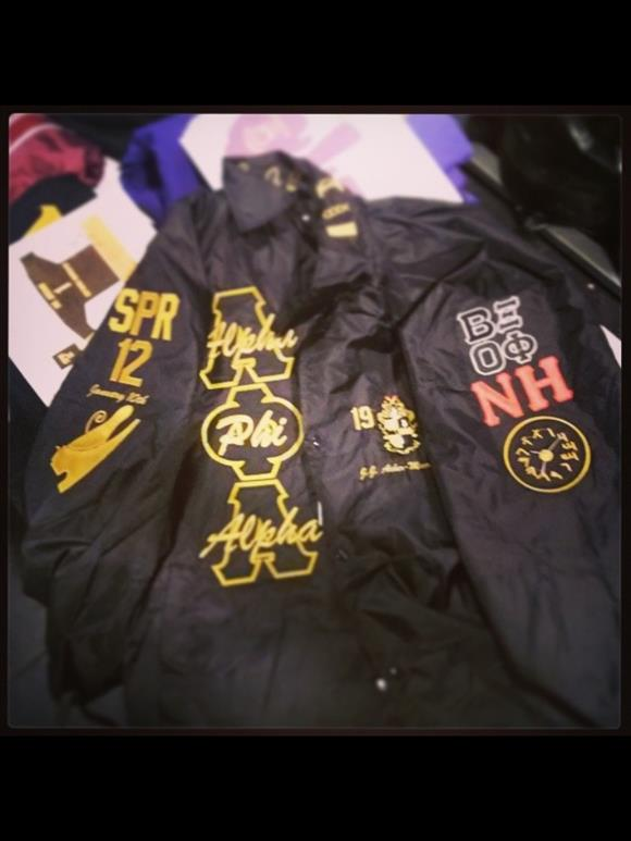 Alpha Phi Alpha Hieroglyphics Jacket