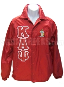 Kappa Alpha Psi Red Crossing Jacket with Letters and Crest