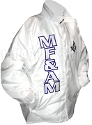 Modern Free & Accepted Mason Square & Compass Line Jacket, White