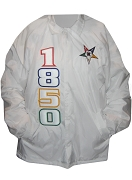 Order of the Eastern Star 1850 Line Jacket with Fatal Star, White