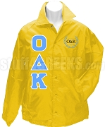 Omicron Delta Kappa Greek Letter Line Jacket with Crest, Gold