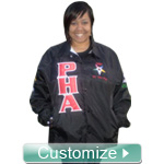 Standard Crossing Jacket, Delivered ONE WEEK From Design Approval, with Free Shipping and Lifetime Embroidery Guarantee: Includes Front, Sleeves, Back Info, and Artwork on Back