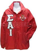 Sigma Alpha Iota Greek Letter Line Jacket with 1903 Crest, Red