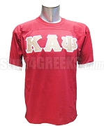 Kappa Alpha Psi Crossing Jersey with Greek Letters, Red/White