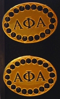 Alpha Phi Alpha Jeweled Cufflinks