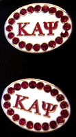 Kappa Alpha Psi Jeweled Cufflinks