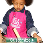Custom Embroidered Children's Apron