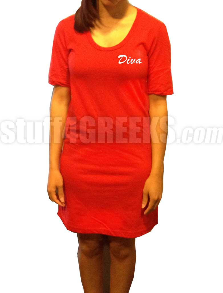 Custom Embroidered T Shirt Dress