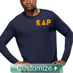 Custom Athletic Performance Screen Printed T-Shirt (Mens Long Sleeve)