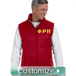 Custom Embroidered Men's Ski Vest